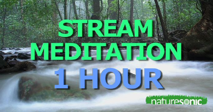 French Country Stream Sound Ambience – For Sleep, Meditation and Relaxation